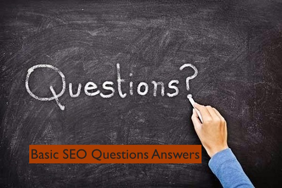 Basic SEO Questions Answers
