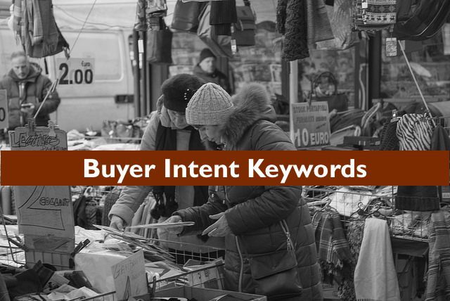 buyer intent keywords list